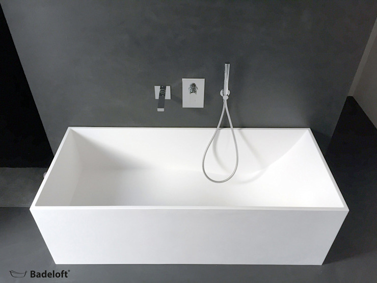 Banheiros modernos por Badeloft GmbH - Hersteller von Badewannen und Waschbecken in Berlin Moderno