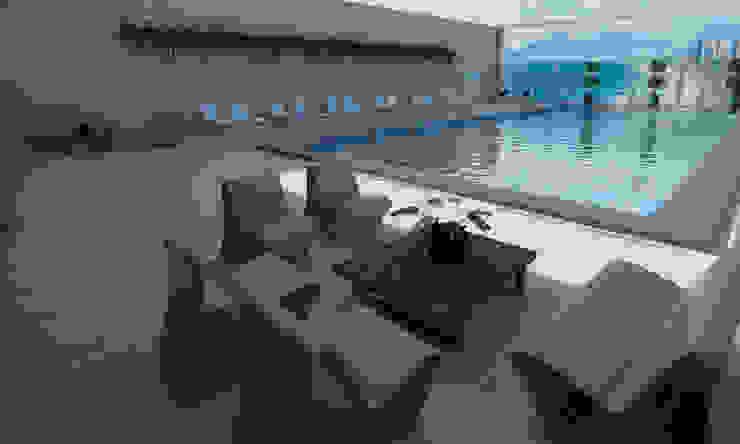Modern hotels by Rangel & Bonicelli Design de Interiores Bioenergético Modern