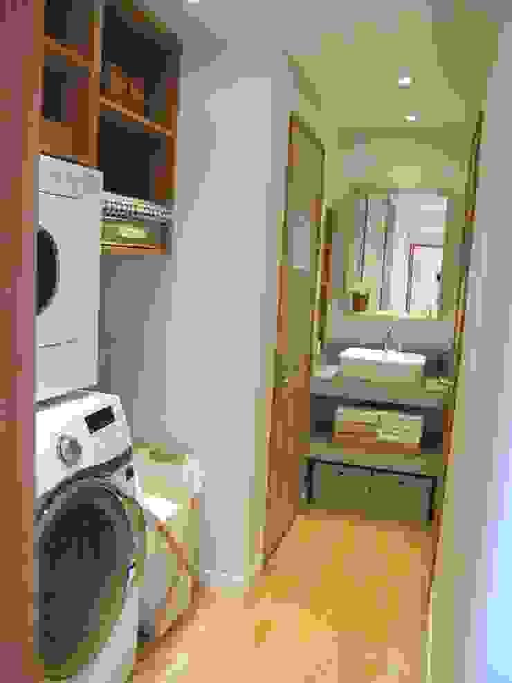 루트주택 15호 스칸디나비아 욕실 by 루트 주택 북유럽