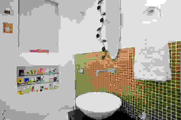 Patrícia Azoni Arquitetura + Arte & Design Eklektik Banyo