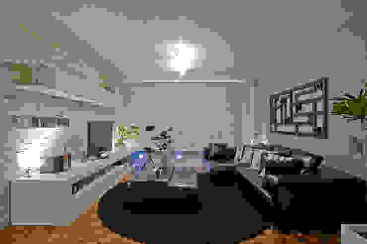 Modern Media Room by Patrícia Azoni Arquitetura + Arte & Design Modern