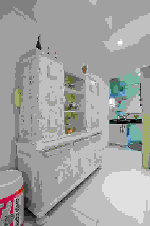 Eclectic style kitchen by Patrícia Azoni Arquitetura + Arte & Design Eclectic