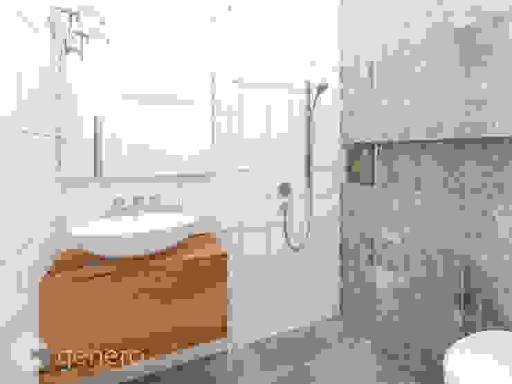 Dom w Tarnowie Podgórnym Nowoczesna łazienka od GENERO Nowoczesny