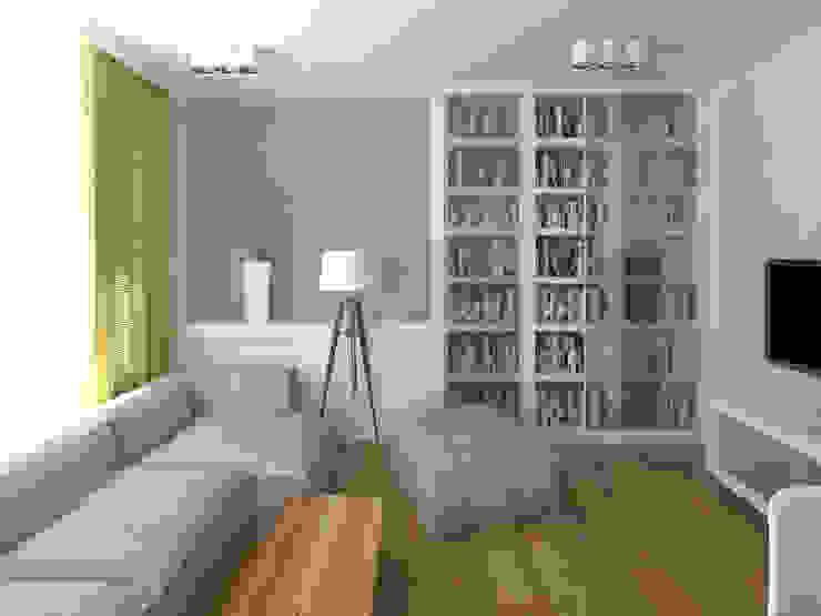 Mieszkanie w Poznaniu Nowoczesny salon od GENERO Nowoczesny