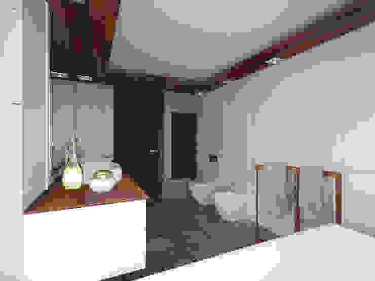 Dom pod Poznaniem Nowoczesna łazienka od GENERO Nowoczesny