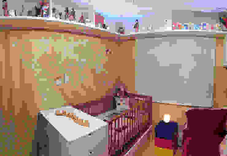 Estúdio Plano Modern nursery/kids room Beige