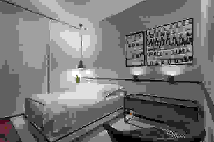 Quarto de Solteiro Quartos minimalistas por Piacesi Arquitetos Minimalista