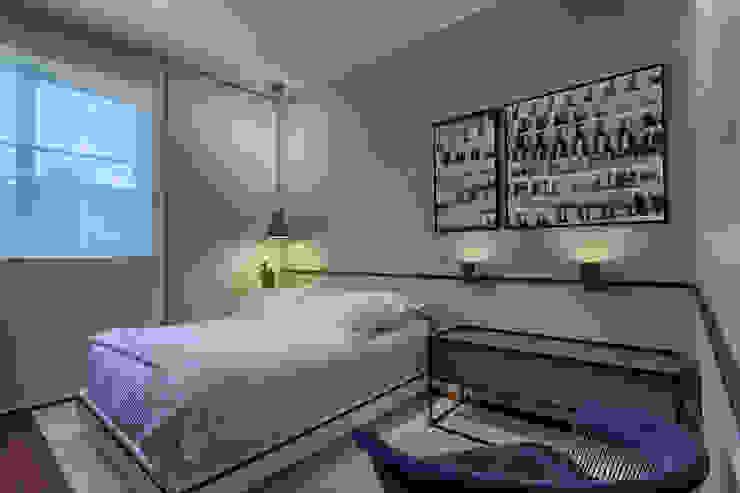 Cuartos de estilo minimalista de Piacesi Arquitetos Minimalista