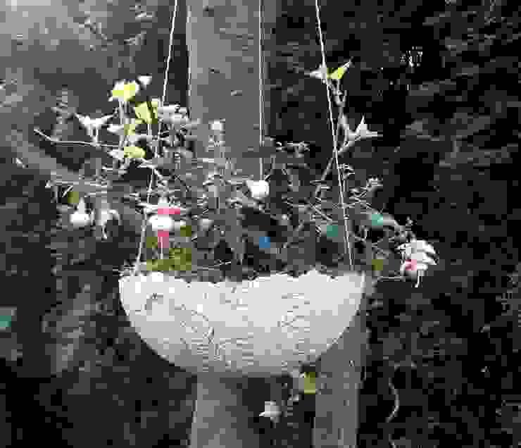 ♥♥♥ Blumenampel - Pflanzschale♥♥♥ Sonja Seele GartenBlumentöpfe und Vasen Keramik Beige