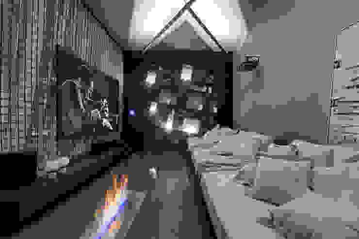 MORAR MAIS 2015 Salas de estar modernas por Piacesi Arquitetos Moderno