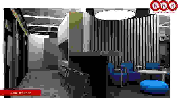 Cocina Edificios de oficinas de estilo industrial de Tres-r Industrial