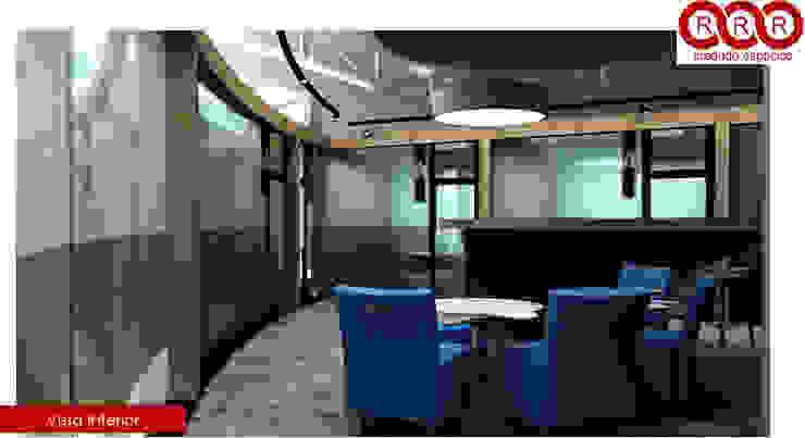 Cajas de Oficinas Edificios de oficinas de estilo industrial de Tres-r Industrial