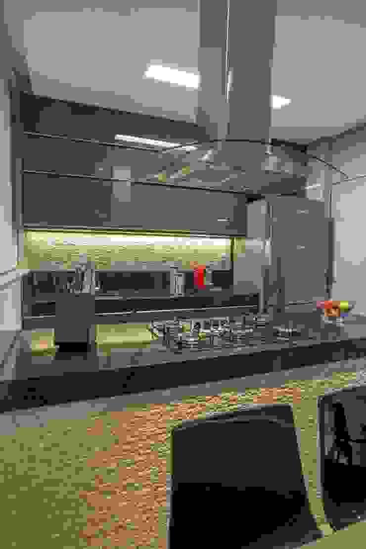 Apartamento Ferreira Cozinhas modernas por Laura Lage Arquitetura e Design Moderno