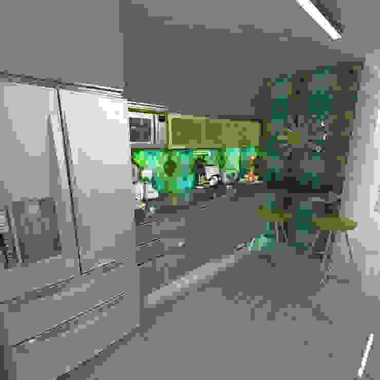 Cuisine moderne par OPFA Diseños y Arquitectura Moderne MDF