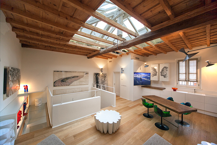Salas modernas de studiodonizelli Moderno