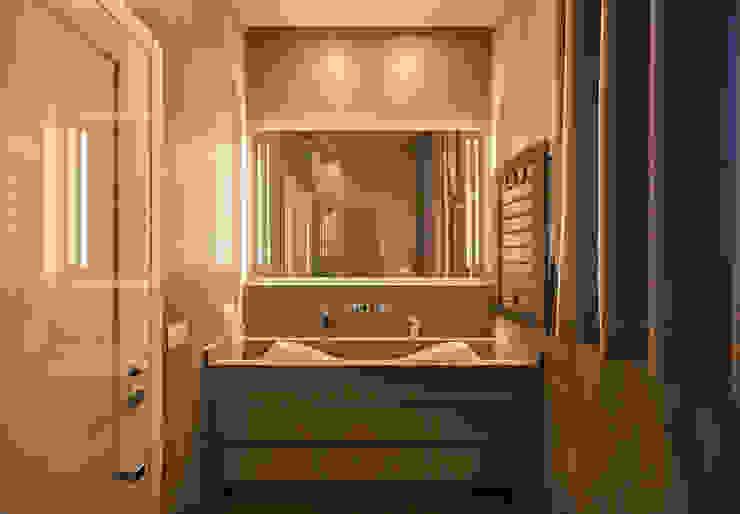 Salle de bain moderne par studiodonizelli Moderne Pierre