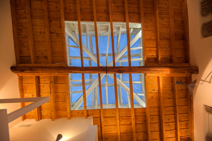 Salon moderne par studiodonizelli Moderne Bois Effet bois