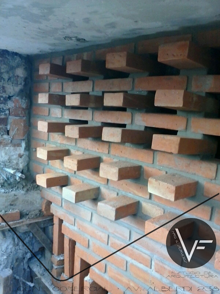 Locaux commerciaux & Magasin modernes par VF ESTUDIO Moderne