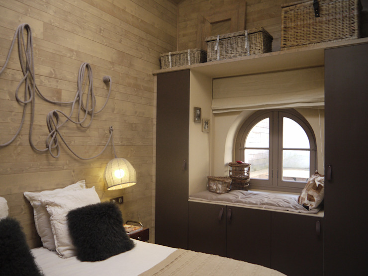 Bedroom by homify, Eclectic Wood Wood effect