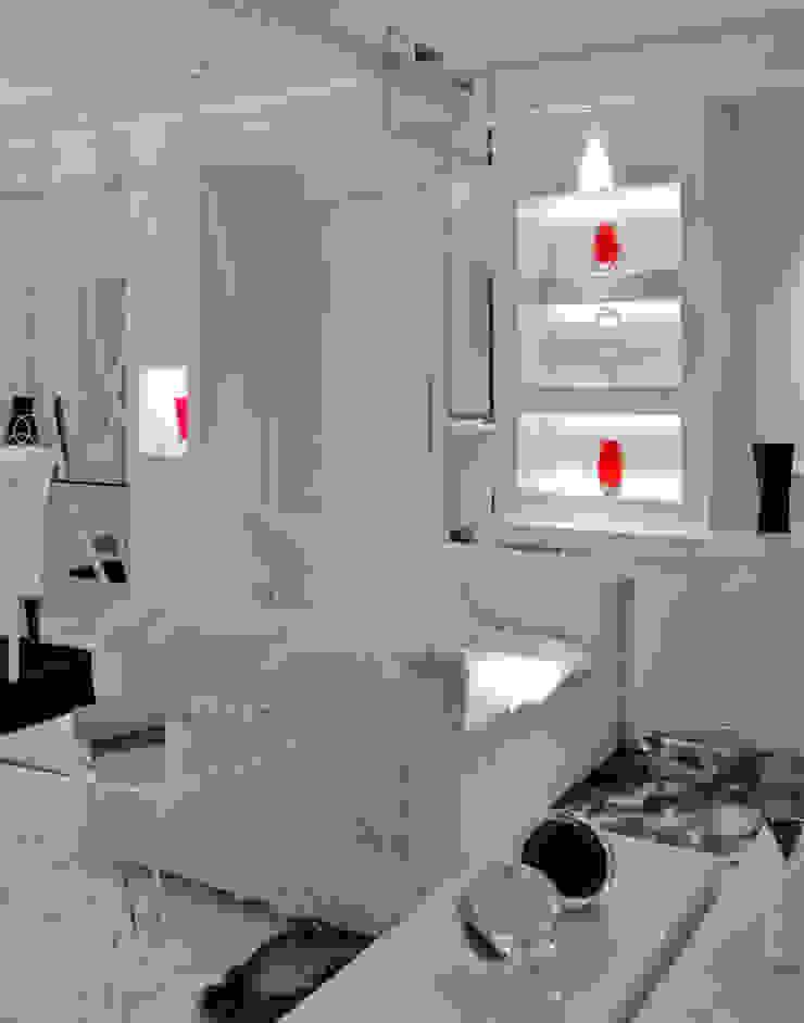 Salones de estilo moderno de HB Arquitetos Associados Moderno Tablero DM