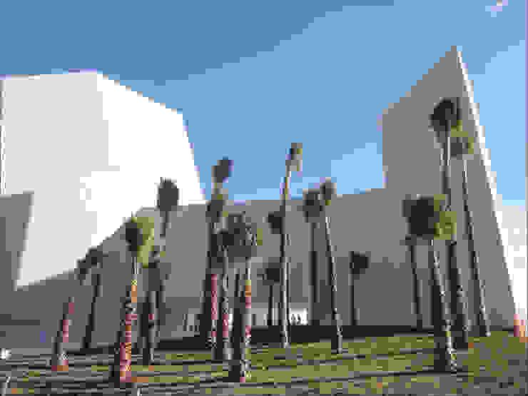 Pabellón Cultural de la República Jardines modernos de Serrano Monjaraz Arquitectos Moderno