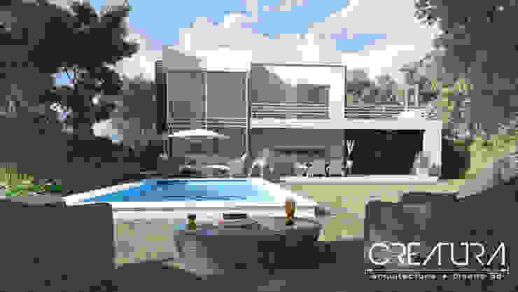 Minimalist pool by Creatura Renders Minimalist
