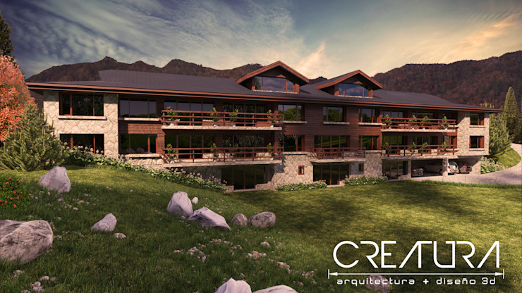 Classic style houses by Creatura Renders Classic