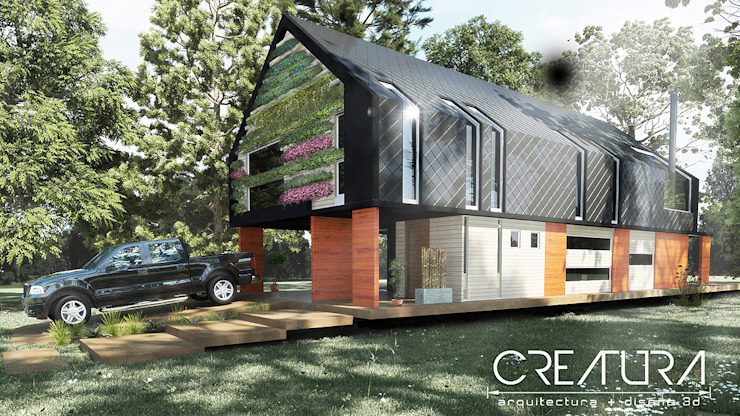 Creatura Renders Maisons rurales