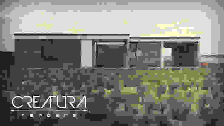 Minimalist house by Creatura Renders Minimalist