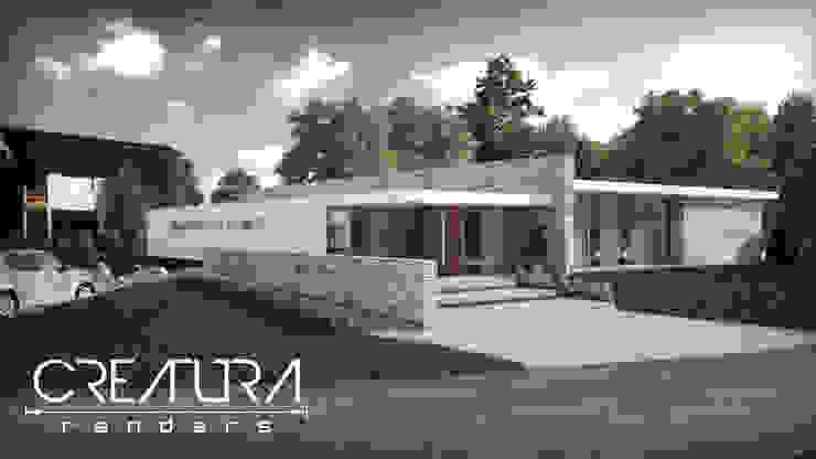 Galeria 2 Casas modernas: Ideas, imágenes y decoración de Creatura Renders Moderno