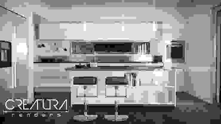 Modern Kitchen by Creatura Renders Modern