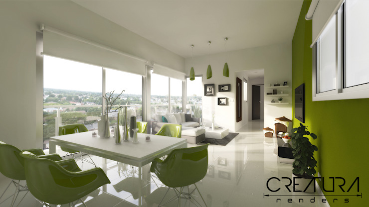 Creatura Renders Salon moderne