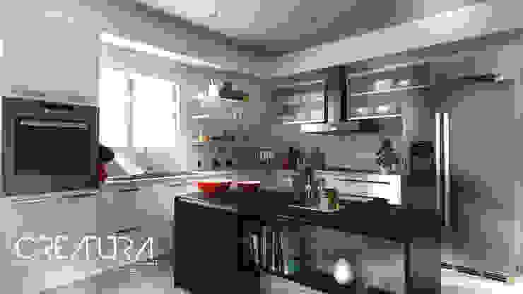 Galeria 2 Cocinas modernas: Ideas, imágenes y decoración de Creatura Renders Moderno
