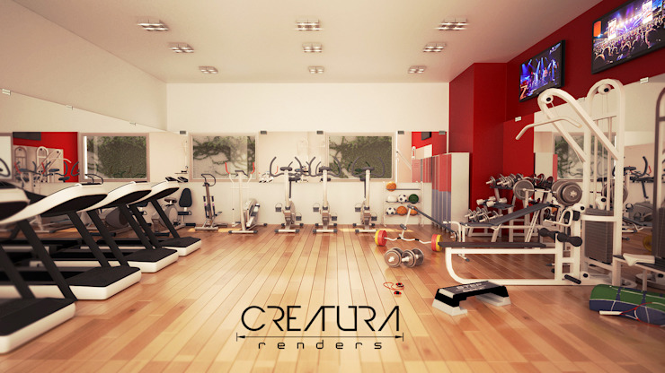 Classic style gym by Creatura Renders Classic