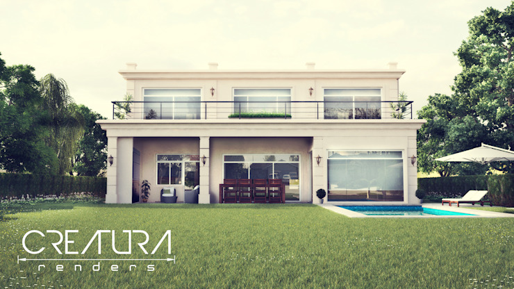 Modern houses by Creatura Renders Modern