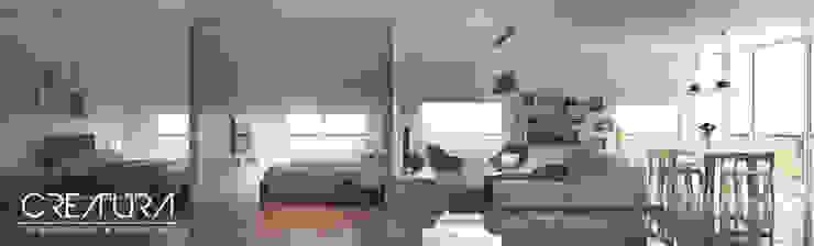 Galeria 2 Dormitorios clásicos de Creatura Renders Clásico