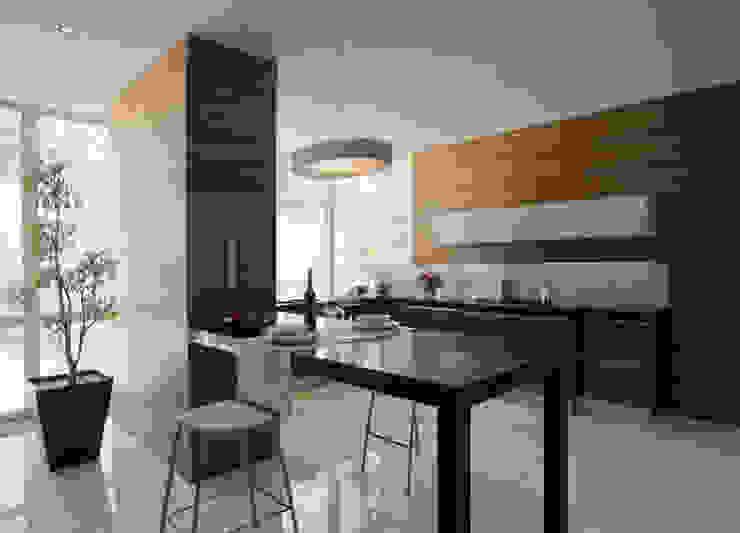 Modern kitchen by Serrano Monjaraz Arquitectos Modern