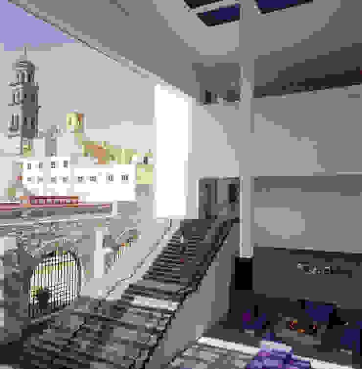 Hotel La Purificadora Balcones y terrazas modernos de Serrano Monjaraz Arquitectos Moderno