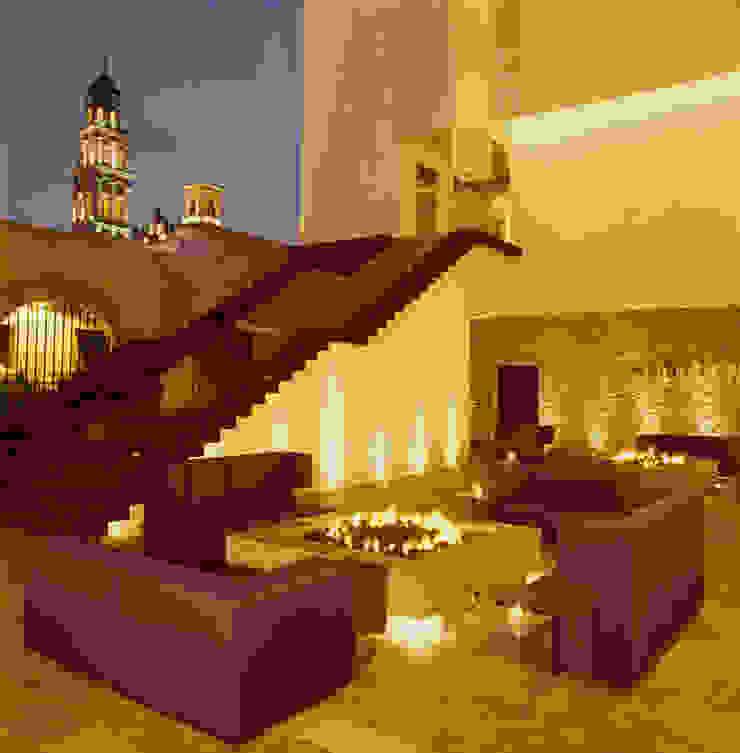 Hotel La Purificadora Salones modernos de Serrano Monjaraz Arquitectos Moderno