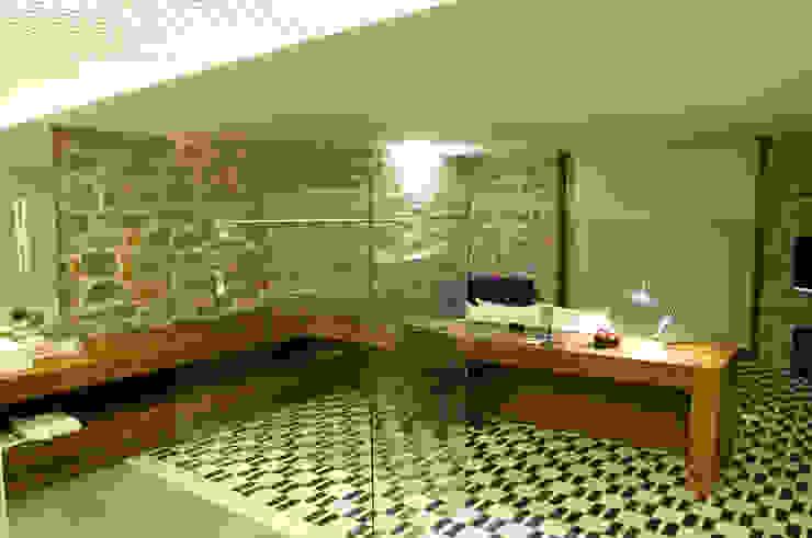 Hotel La Purificadora Baños modernos de Serrano Monjaraz Arquitectos Moderno