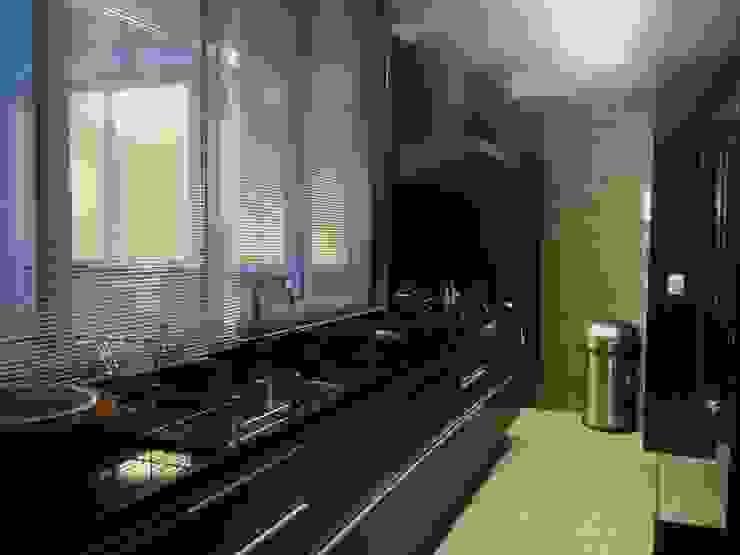 Moderne Küchen von Carlos Salles Arquitetura e Interiores Modern
