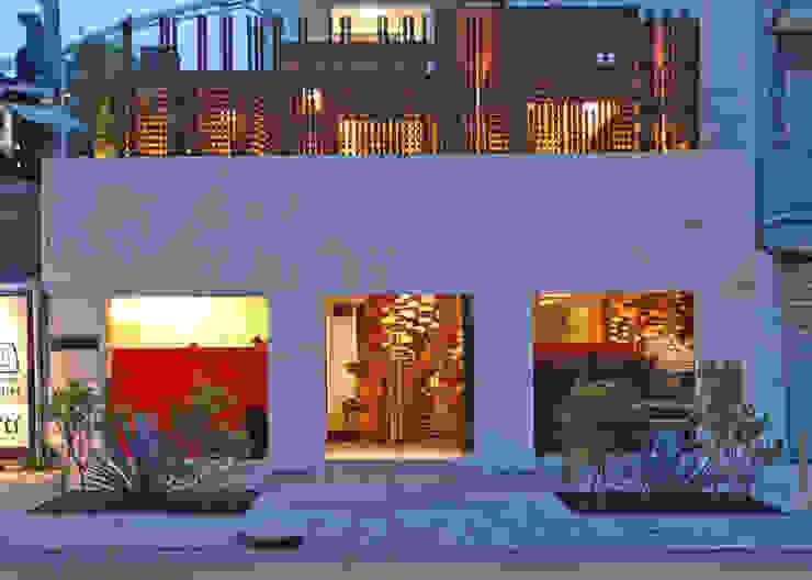Restaurante Jaso Casas modernas de Serrano Monjaraz Arquitectos Moderno