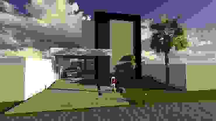 Vista ao entardecer Casas modernas por Caroline Argenta e Elisangela Chioca Moderno