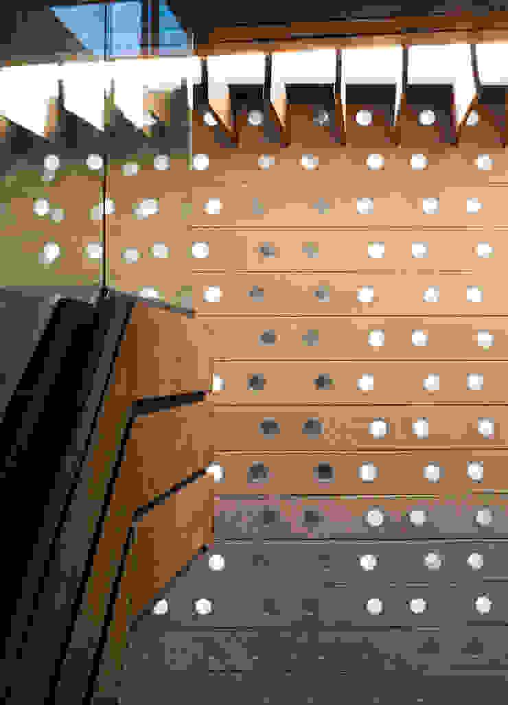 Casa Tierra Paredes y pisos de estilo moderno de Serrano Monjaraz Arquitectos Moderno