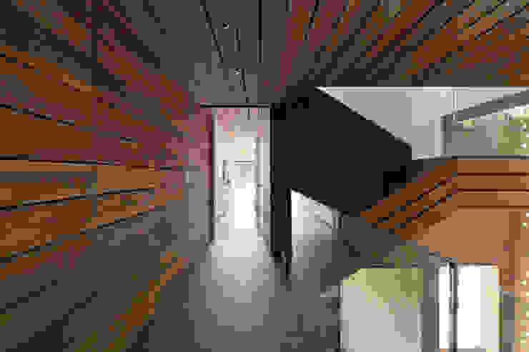 Modern corridor, hallway & stairs by Serrano Monjaraz Arquitectos Modern