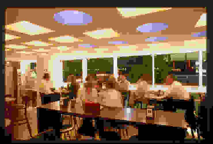 Restaurante Capicúa Nuevo León Comedores modernos de Serrano Monjaraz Arquitectos Moderno