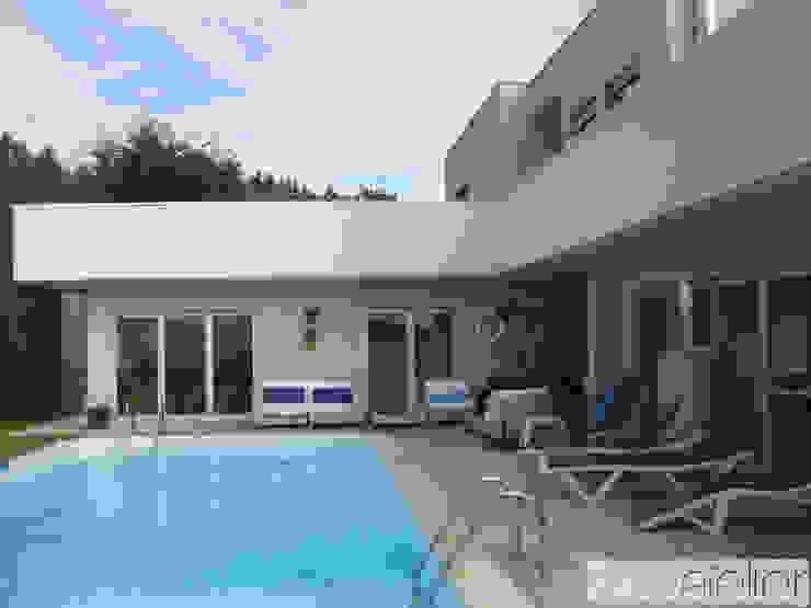"""Casa """"Villa Solé""""_Moledo, Caminha Casas modernas por SOLE ATELIER, LDA Moderno"""