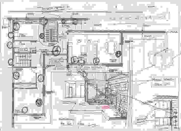 Modern walls & floors by SOLE ATELIER, LDA Modern