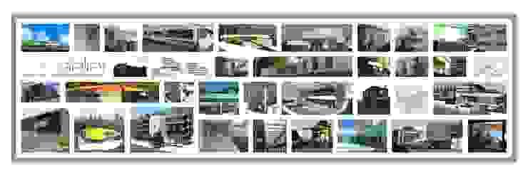 Modern style study/office by SOLE ATELIER, LDA Modern