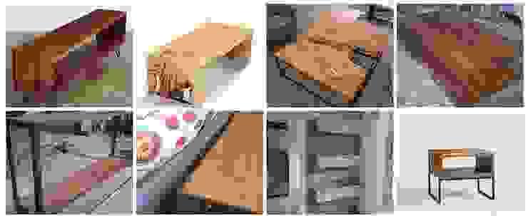 rustic  by Diego Musadi Muebles, Rustic Wood Wood effect